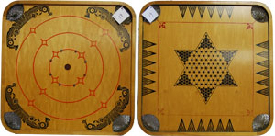 "19 - CROKINOLE CHINESE CHECKERS ""K"""