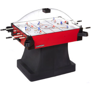 Signature Stick Hockey - Pedestal - Red - Carrom Company - Bubble Hockey