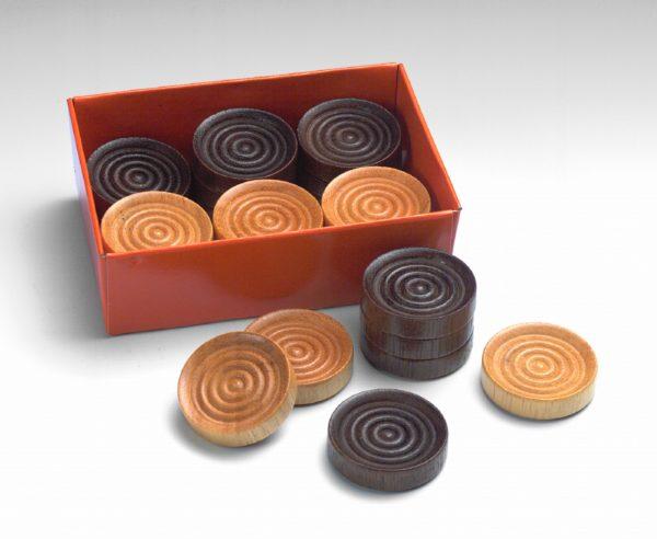 Wooden Checkers - Drueke Classic - Carrom Company