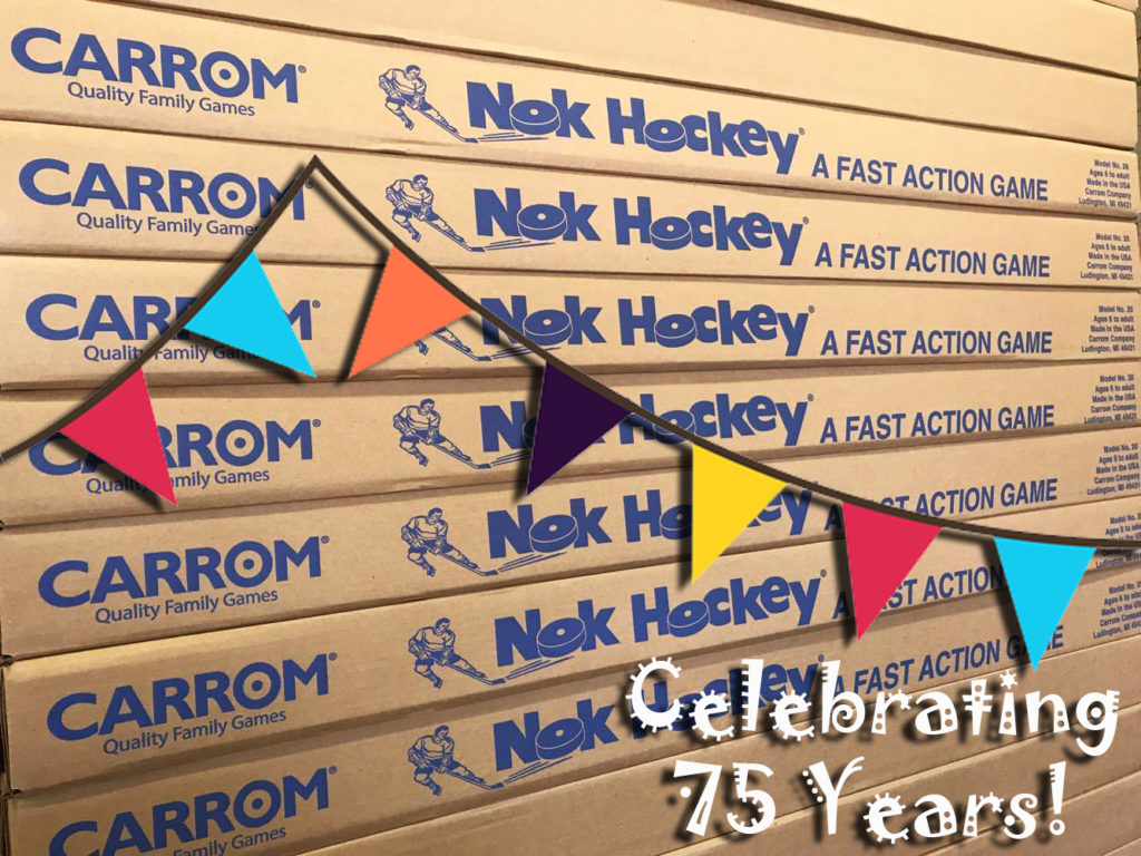 Celebrating 75 Years of Nok Hockey - Carrom Company