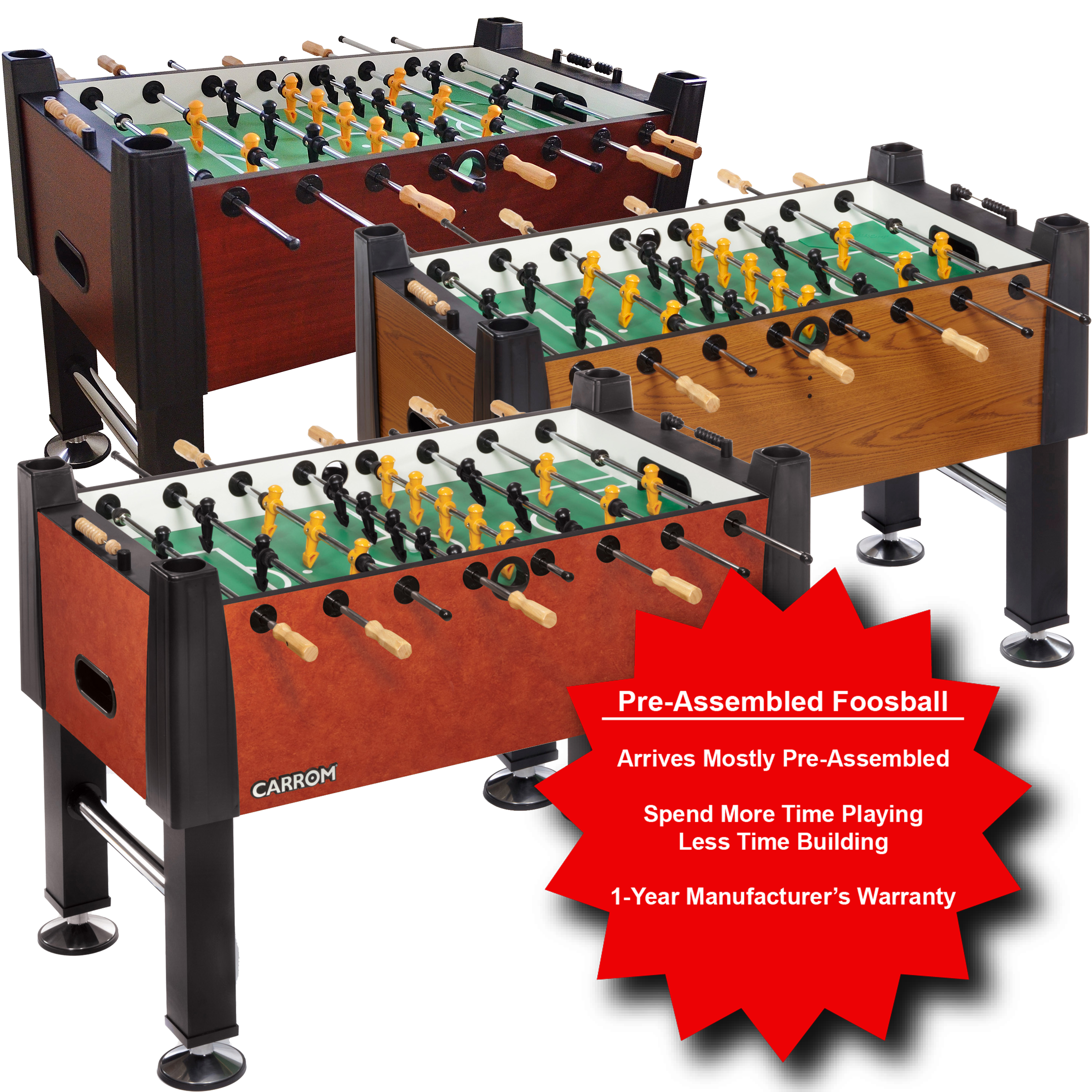 Foosball fun facts and findings carrom company - Who invented table football ...
