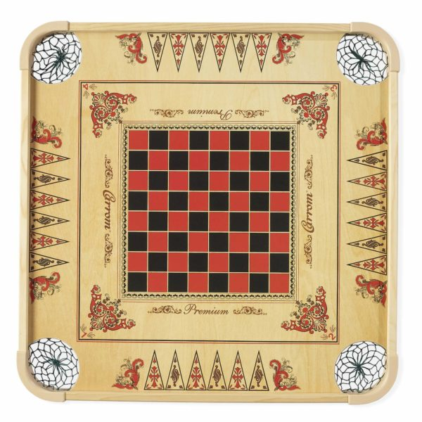 Carrom Game Board top view