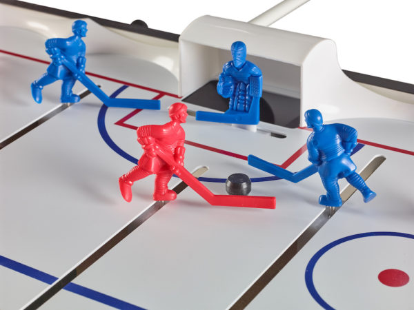 Carrom Super Stick Hockey players