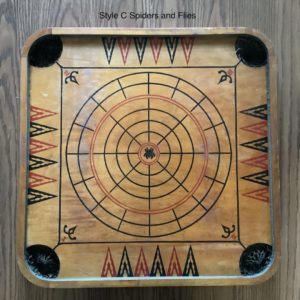 Carrom Style C Spiders and Flies Game Board