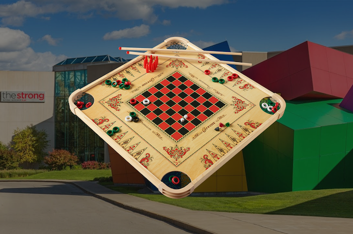 Carrom Board For Hall of Fame